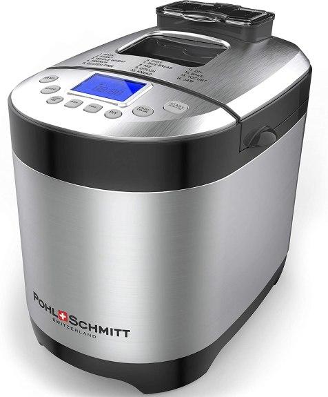 Pohl Schmitt Stainless Stell Bread Machine