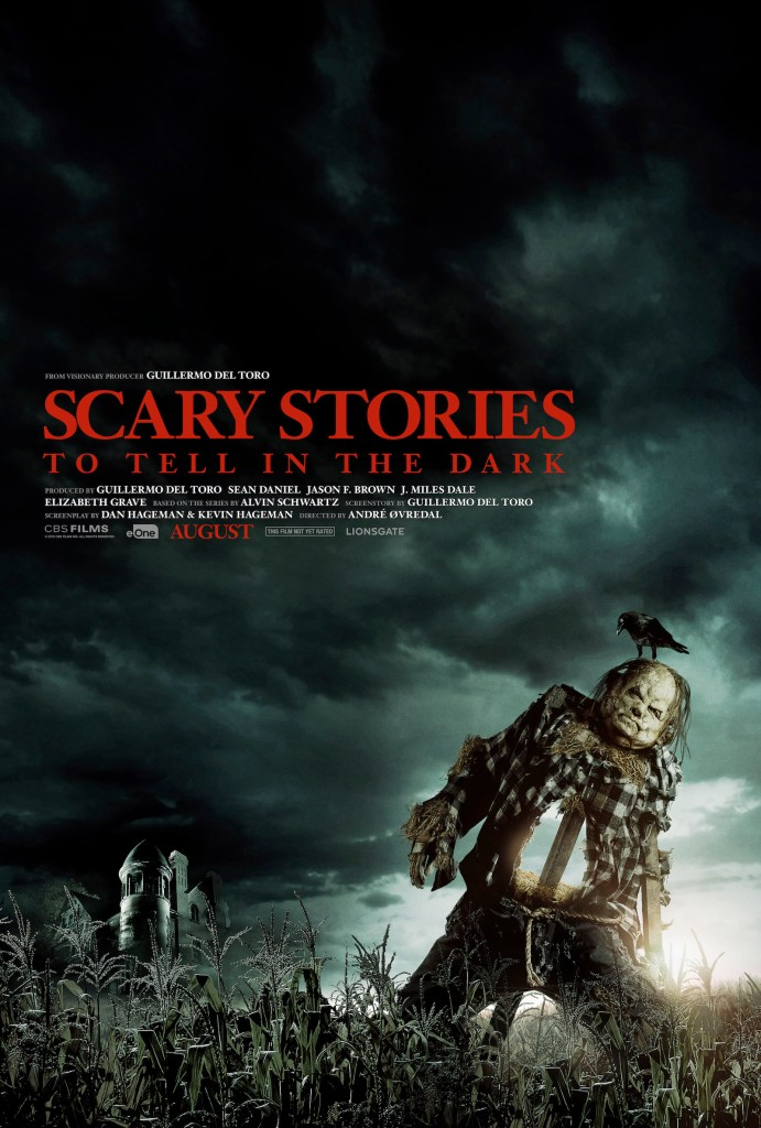 Scary Stories to Tell in the Dark movie poster.