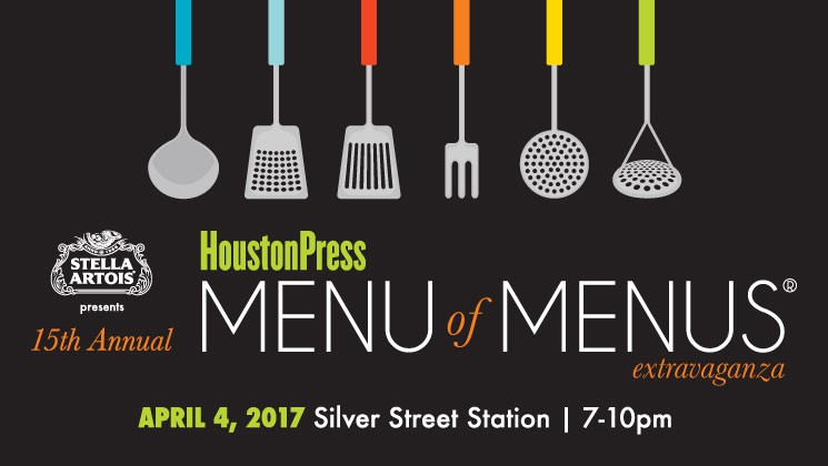 Menu of Menus Extravaganza in Houston!