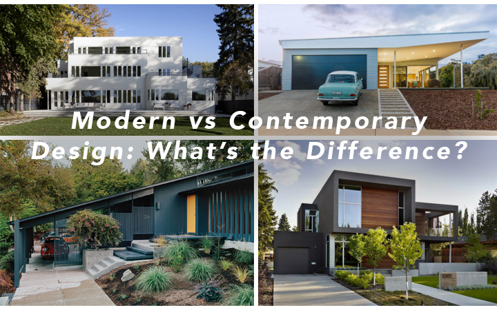 Modern vs Contemporary Design: What's the difference?