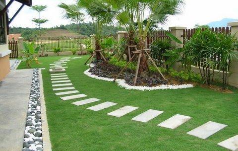 modern garden moderni