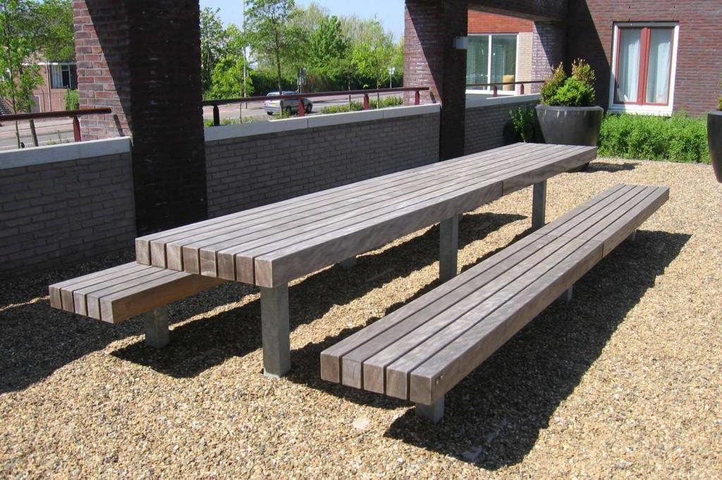 Modern Outdoor TableBench  MODERNi