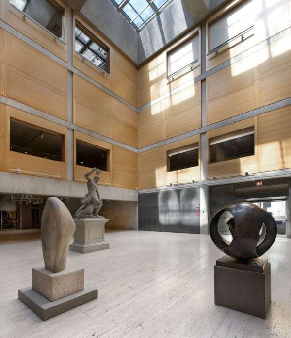 Yale Center British Art Louis Kahn-knight