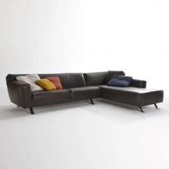 Sofa W Chaise Wrought Iron Sets Online Santiago Lounge Modern Intentions Shop