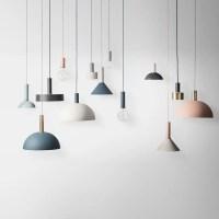 Collect Lighting - Cone Shade (Light Grey) | Modern ...