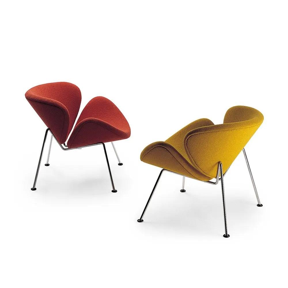 orange slice chair italian designer dining chairs lounge modern intentions shop furniture pierre paulin