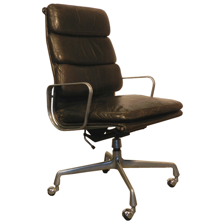 Ray And Charles Eames Desk Chair With Soft Pads  Modernism