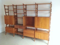 Italian Design Fifties Wall Unit Shelving style Ico Parisi ...
