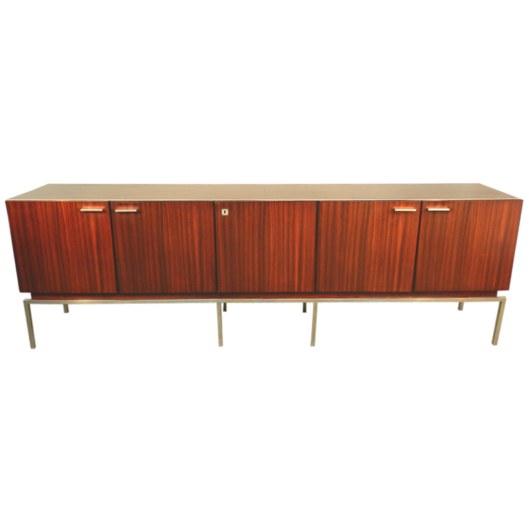 Long Mid Century Modern 1960 Sideboard or Buffet  Modernism