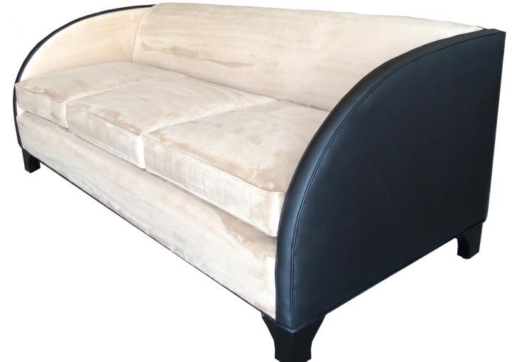 American Art Deco Wood Mantel