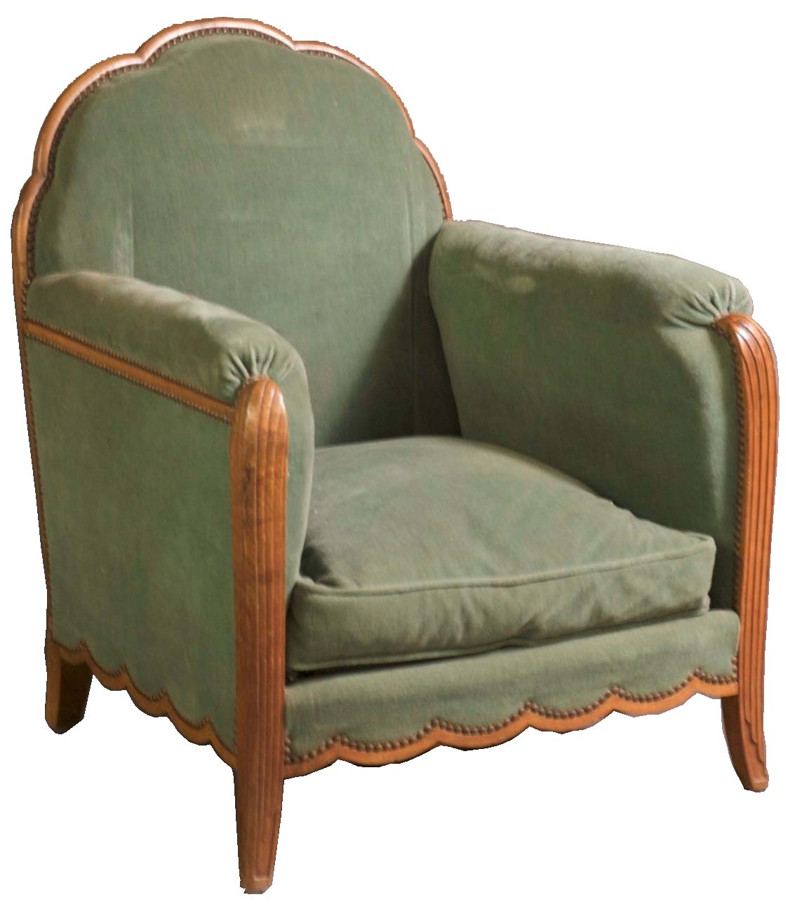 Andre Frechet Pair Of 1920s Club Chairs  Modernism