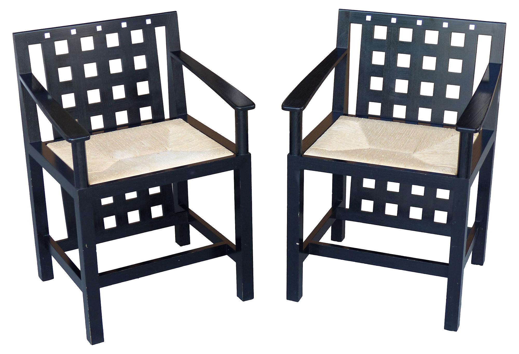 charles rennie mackintosh willow chair ergonomic gaming reddit mackinstosh ds3 chairs 1975 modernism