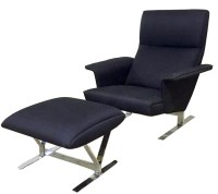 Danish Modern Lounge Chair & Ottoman