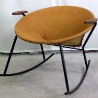 Mid Century Modern 1960's Disk Chair ( Rocker) | Modernism