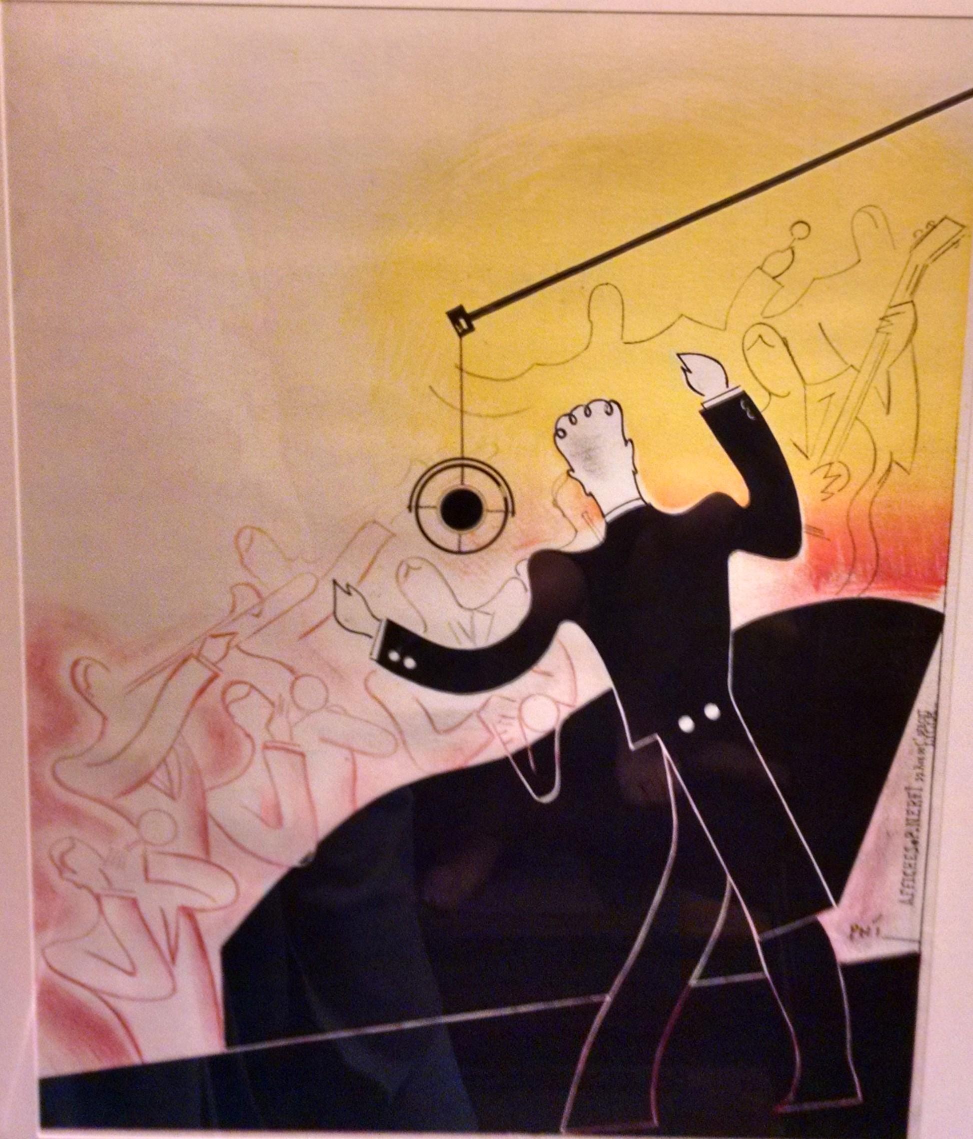 Phi Nefri Paul Art Deco Poster 1935 Modernism