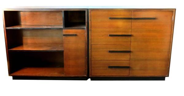 Gilbert Rohde American Art Deco Chest Bookcase