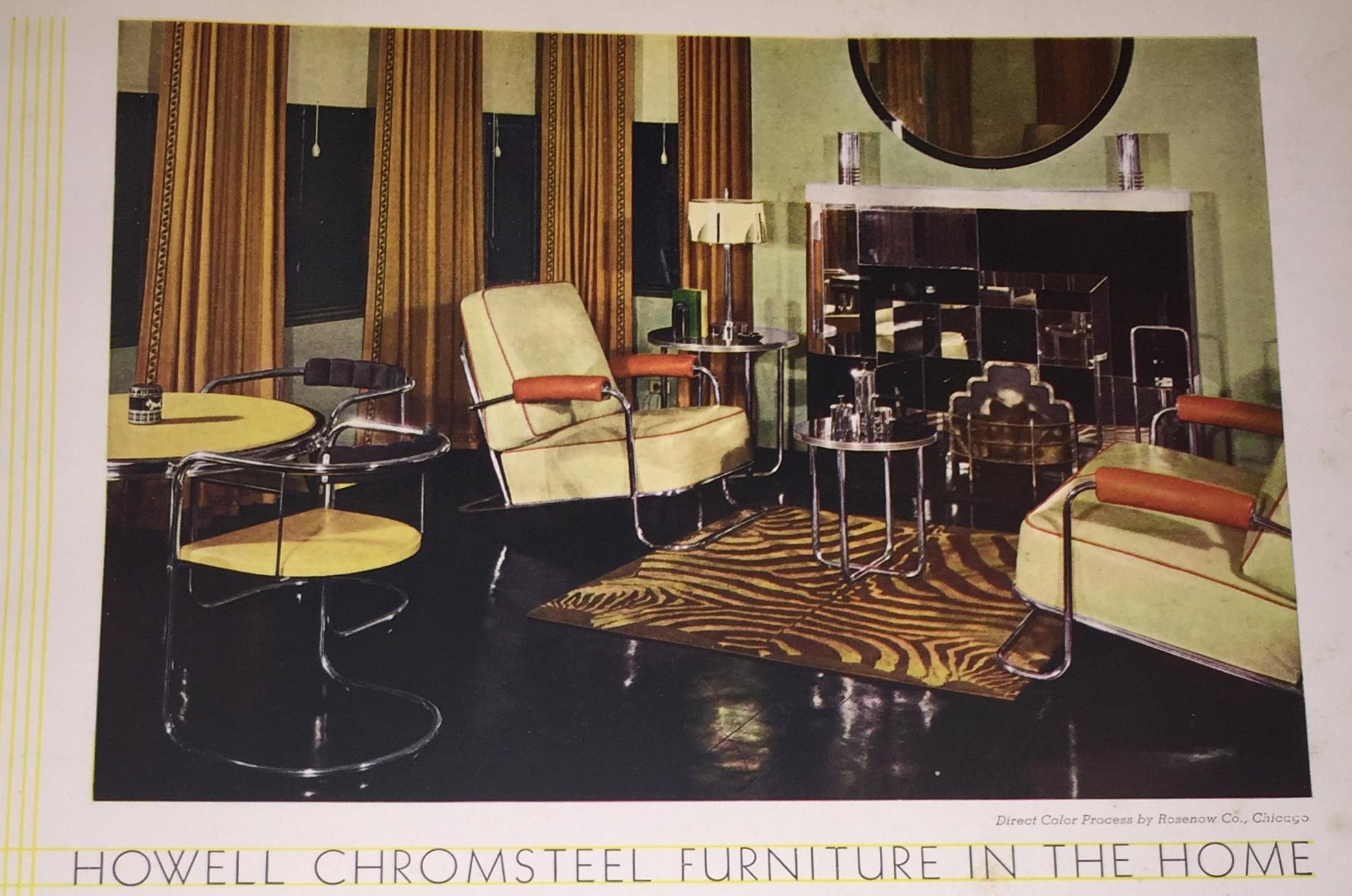 Rare 6 Vol Set Home Furnishing Arts 193436  Modernism
