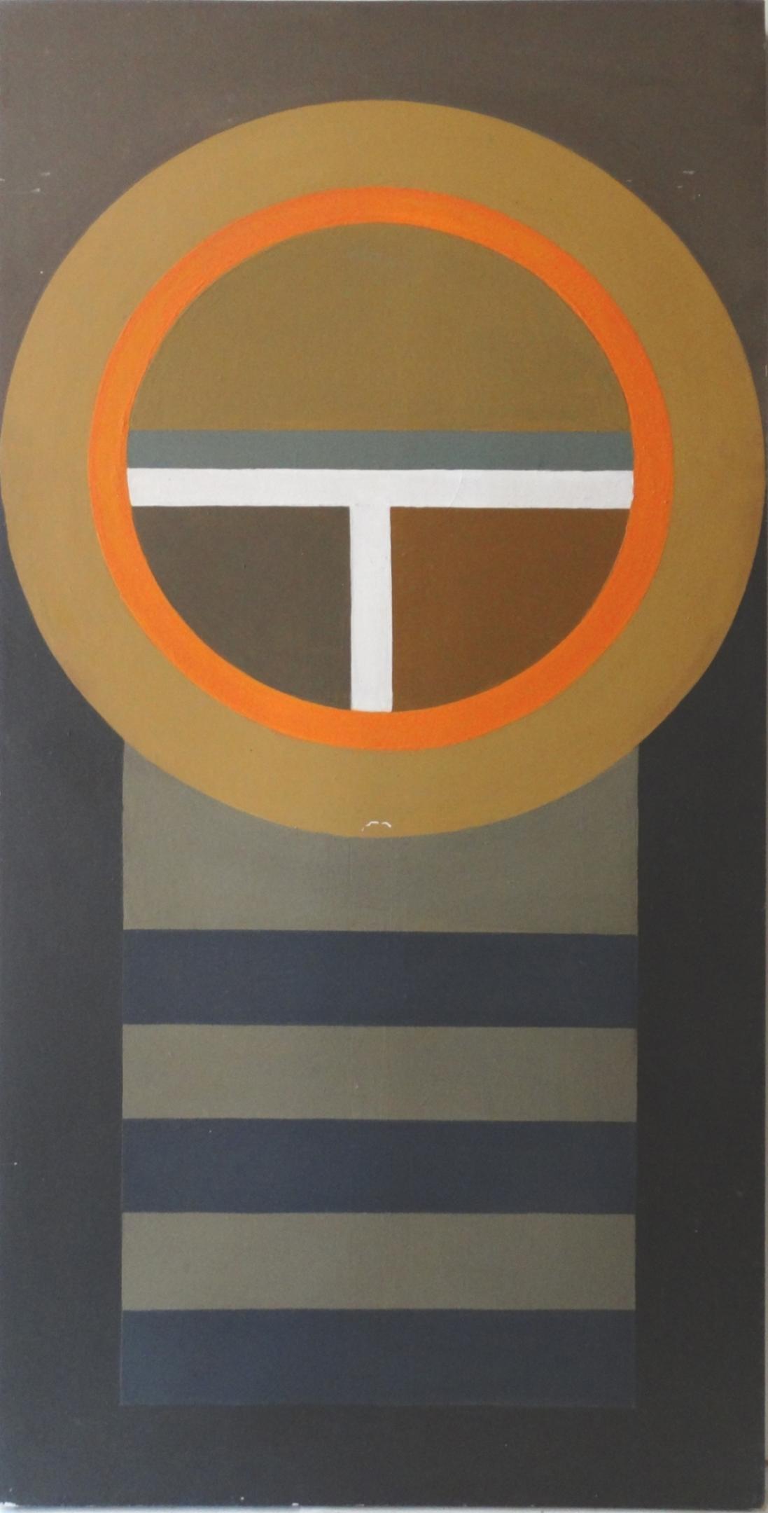 Larue Storm Hard Edge Painting  Modernism