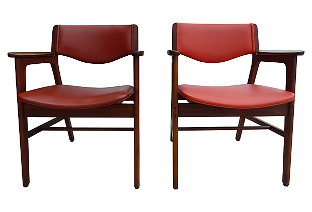 wh gunlocke chair disposable covers for weddings danish modern style chairs by w h company modernism