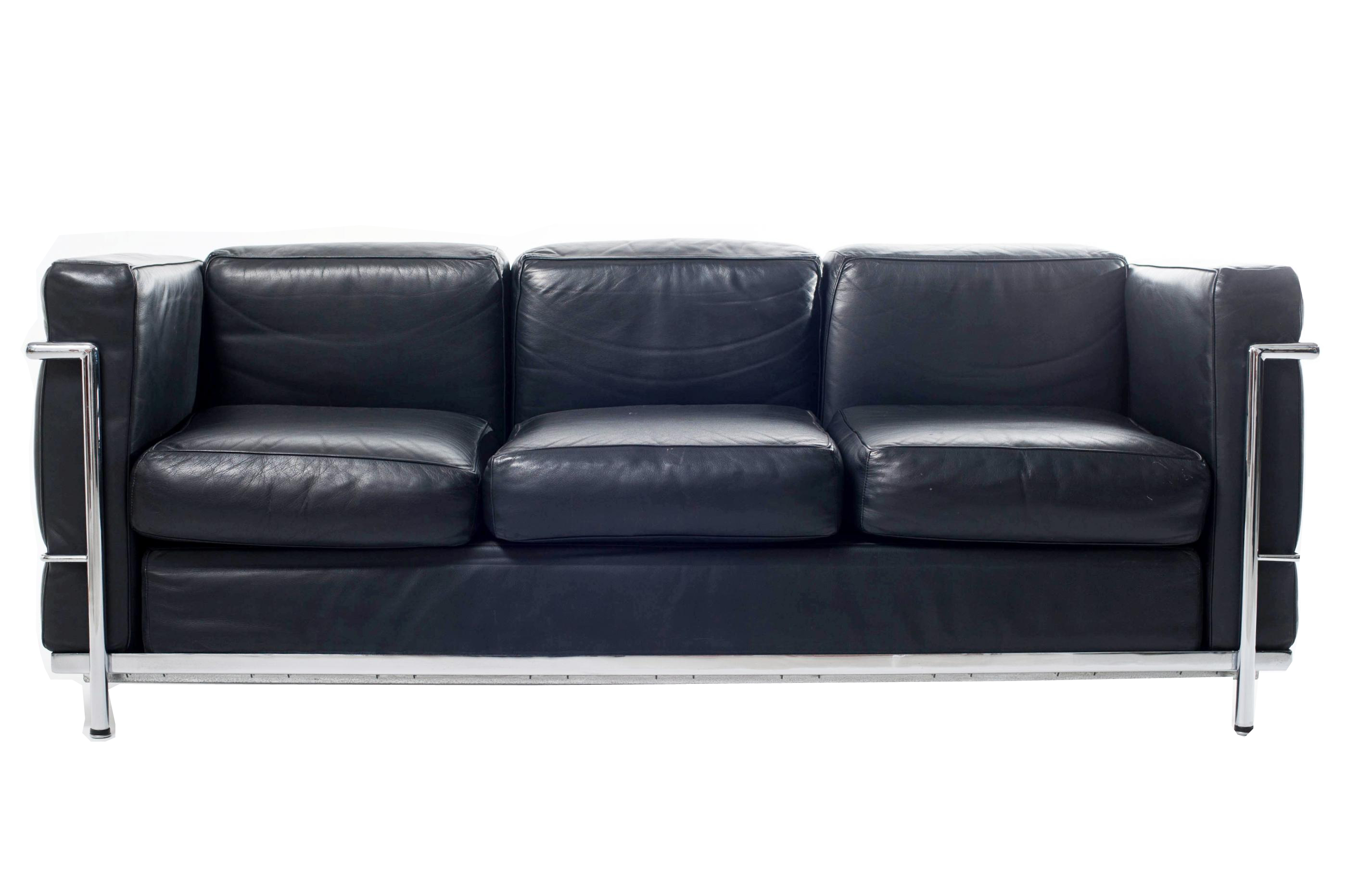 lc3 sofa wooden carved set products le corbusier alivar 1928 italian design