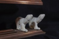 Art Deco Polar Bear Lamp | Modernism