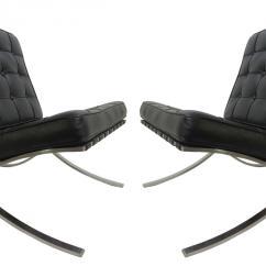 Knock Off Barcelona Chair American Girl Salon Used Ottoman Style Premium