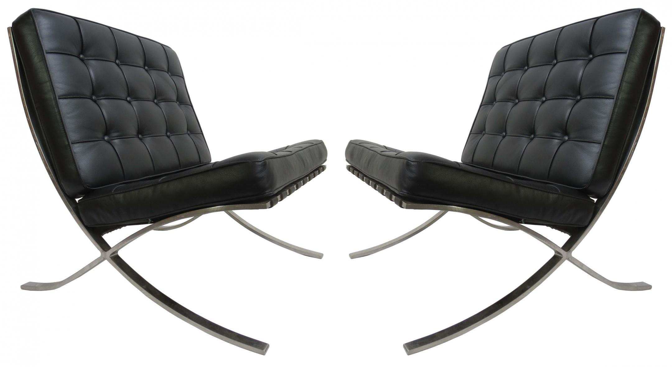 Barcelona Chairs For Sale Three Mies Van Der Rohe Barcelona Chairs Modernism