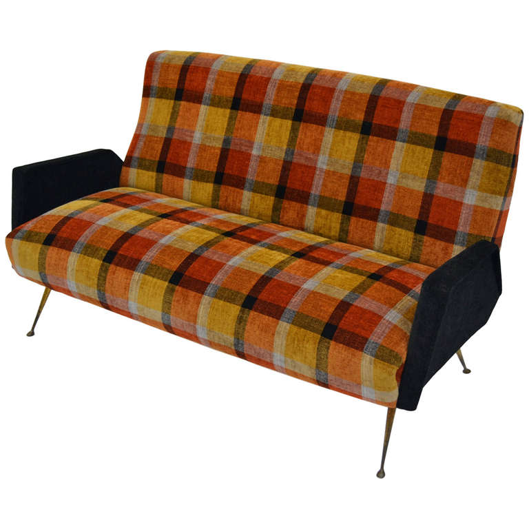 country plaid sofa sets hideaway bed italian fifties design with tartan fabric ...