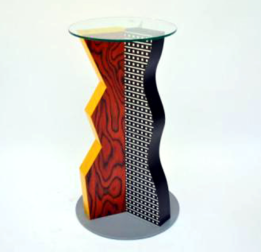 Table Ivory  Ettore Sottsass  Memphis  Modernism