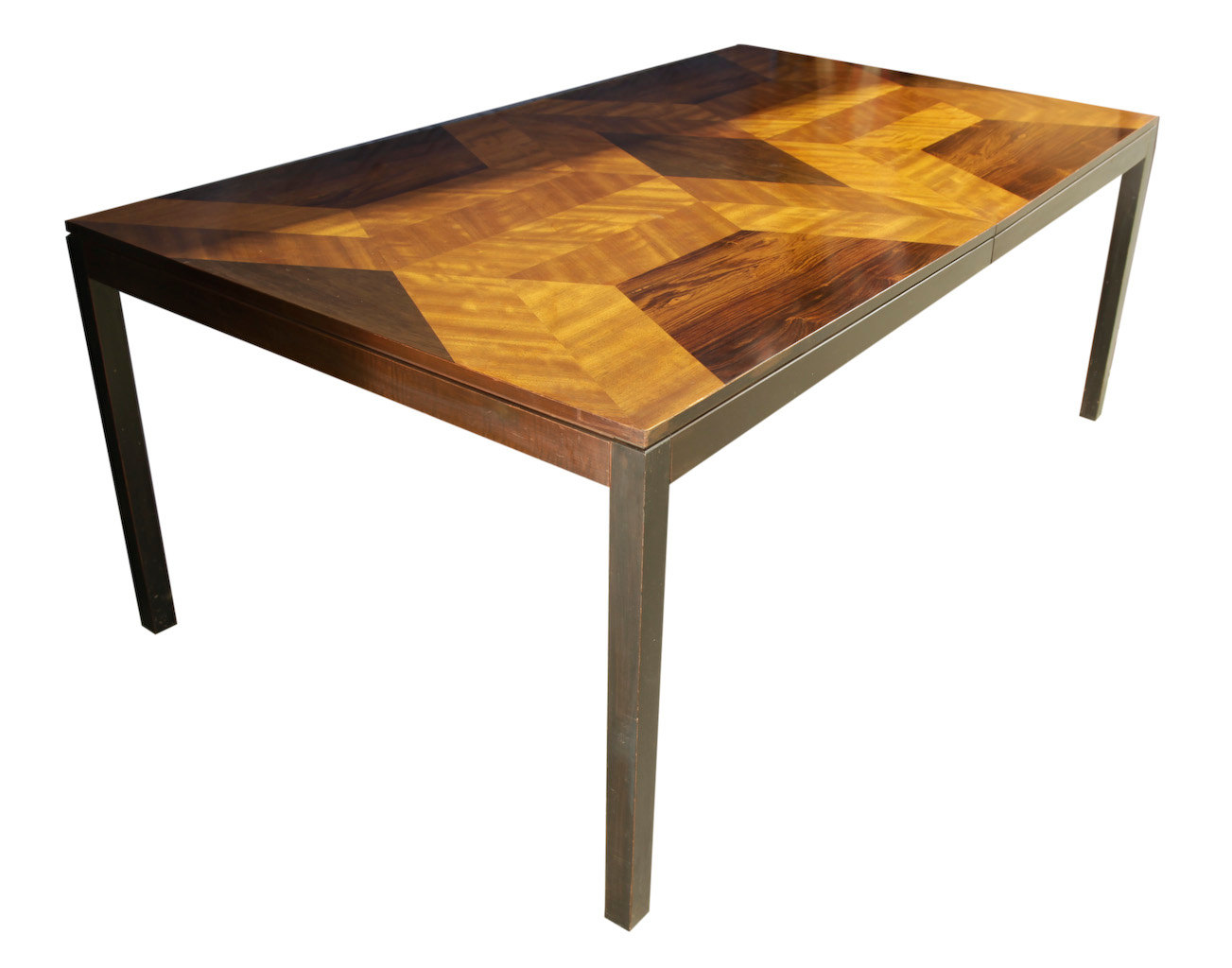 Milo Baughman dining table for Directional  Modernism