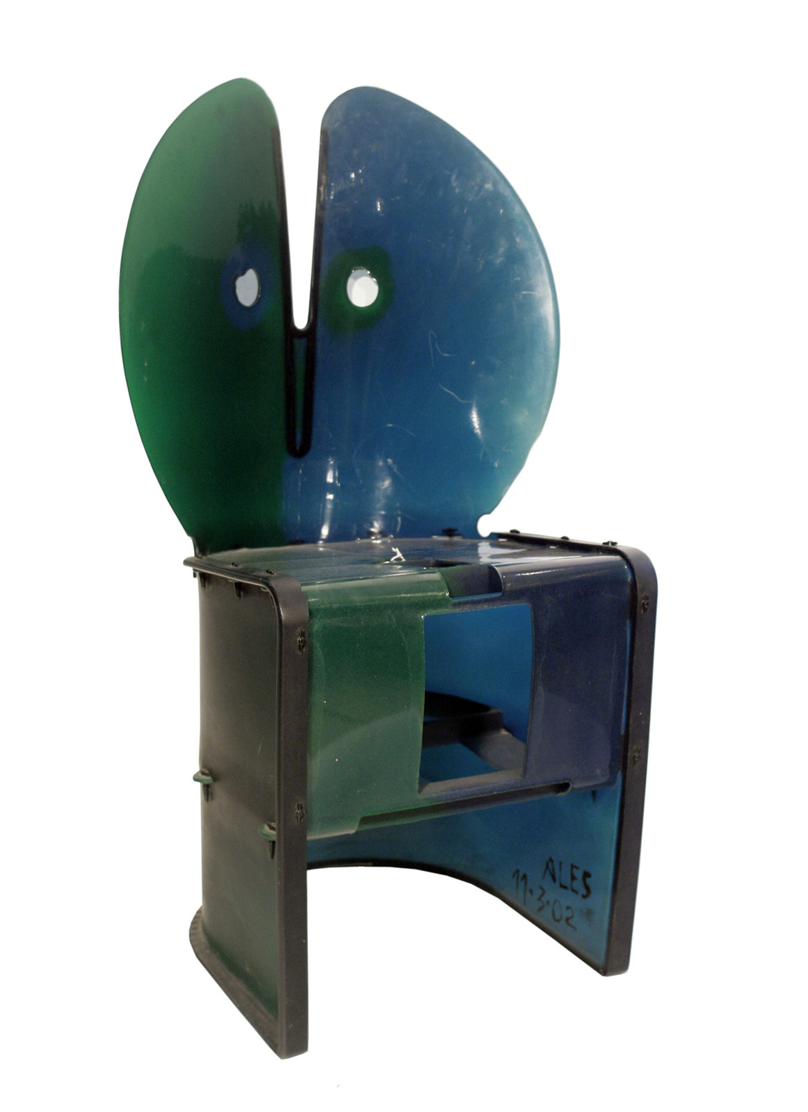 Nobody s Perfect Chair By Gaetano Pesce  Modernism