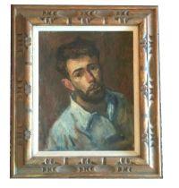 Thomas J Strickland Self Portrait Oil Impressionist ...