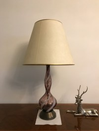 Pair of Murano Venetian Mid-Century Colored Table Lamps ...