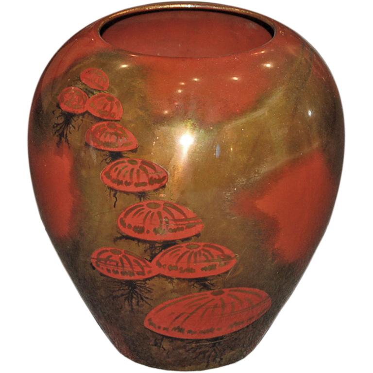 Wmf Ikora German Art Deco Vase Jellyfish Modernism