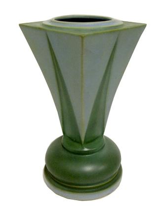 Frank Ferrell Shooting Star Vase Futura American Art Deco Modernism