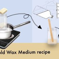 The 2.0 Cold wax medium recipe that you will love