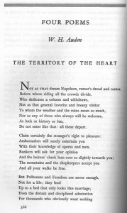 "W. H. Auden, ""The Territory of the Heart."" Vol. 5 (1942): 366."