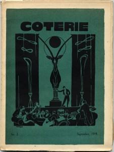 A. Allinson, cover design, No. 2 (Sept. 1919).