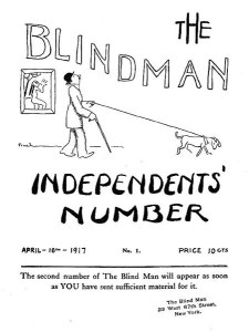 Cover design, No. 1 (April 1917).