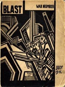 Wyndham Lewis, cover design, No. 2 (July 1915).