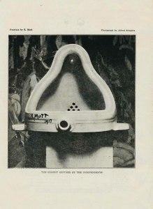 Alfred Stieglitz, Fountain of R. Mutt. No. 2 (May 1917): 4.