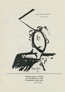 Clara Tice, Edgar Varese en Composition. No. 2 (May 1917): 7.