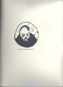 Gordon Craig, The Mask of the Book Seller. 2:1-3 (July 1909): 40a.