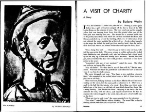 "Eudora Welty, ""A Visit of Charity."" 1:6 (Jan 1941): 16-17."