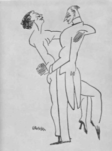 William Gropper, Fox Trot. Vol. 72 (May 1922): 470, insert.