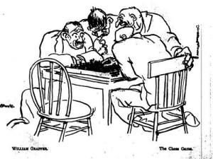 William Grapper, The Chess Game. 1:1 (Nov. 1921): 69.