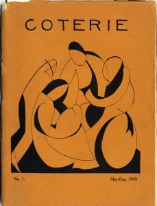 Cover design, No. 1 (May 1919).