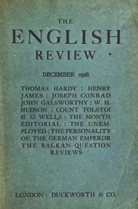 The English Review Cover