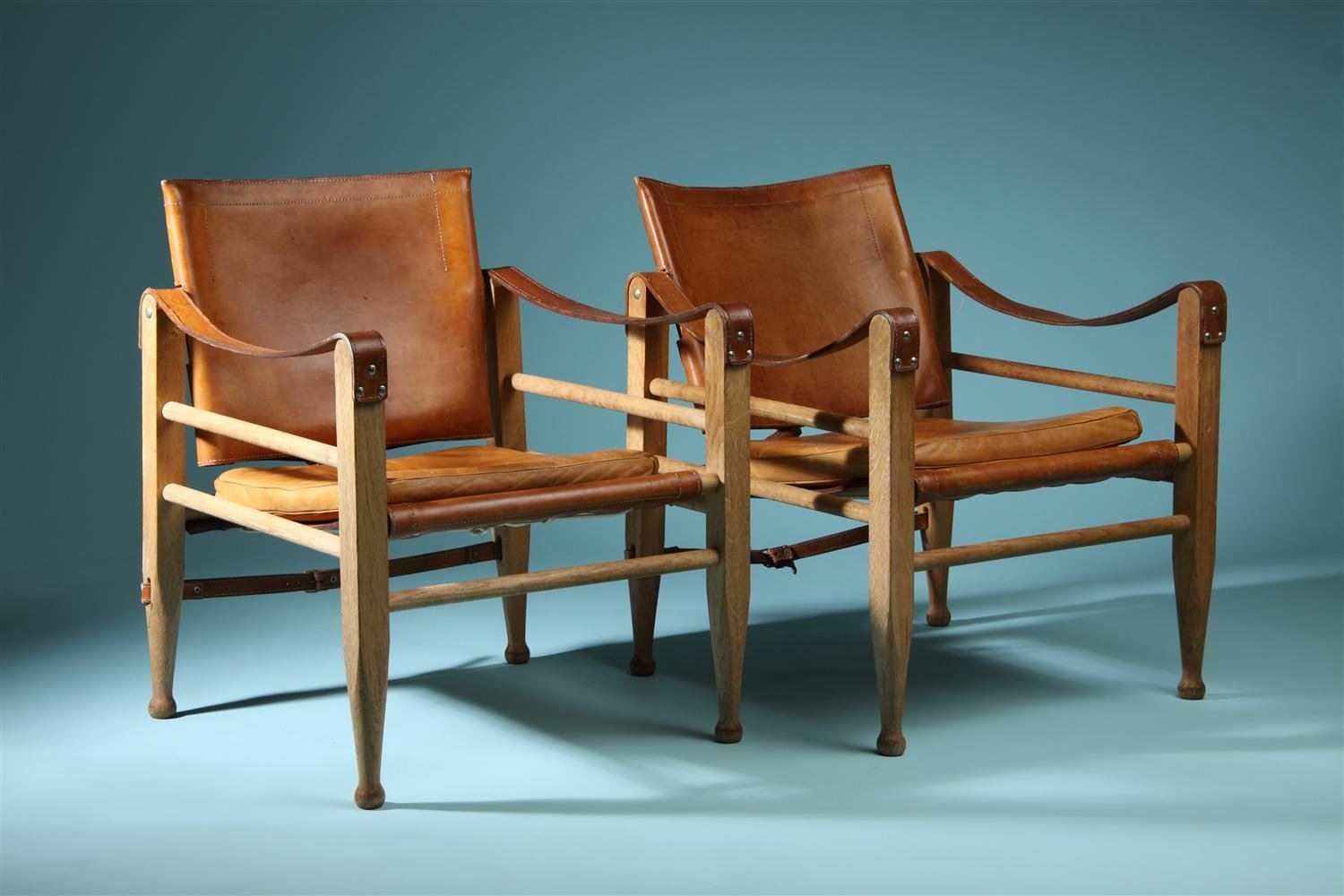 Safari Chairs Safari Chairs Designed By Börge Mogensen Denmark 1950 S