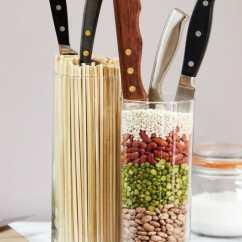 Kitchen Knife Storage Cupcake Accessories 6 Sharp Ideas For Modernize Unique